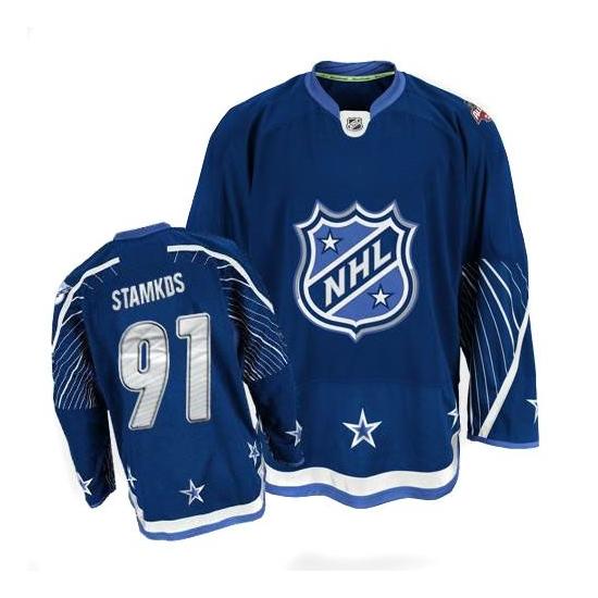 Steven Stamkos Tampa Bay Lightning Authentic 2011 All Star Reebok Jersey - Navy Blue