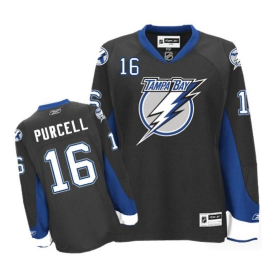 Teddy Purcell Tampa Bay Lightning Authentic Reebok Jersey - Black
