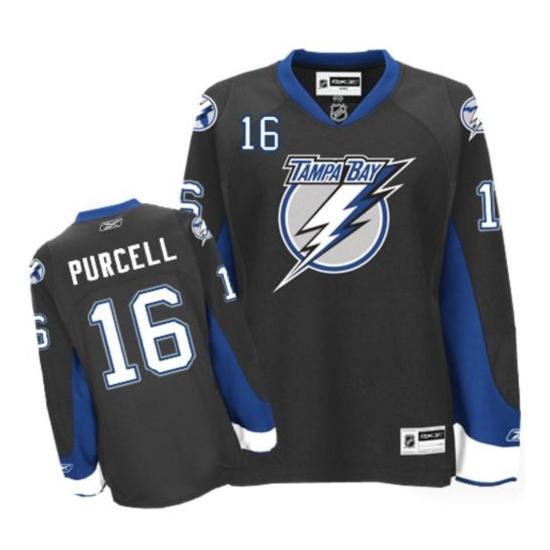 Teddy Purcell Tampa Bay Lightning Premier Reebok Jersey - Black