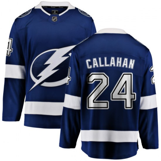 Ryan Callahan Tampa Bay Lightning Youth Breakaway Home Fanatics Branded Jersey - Blue