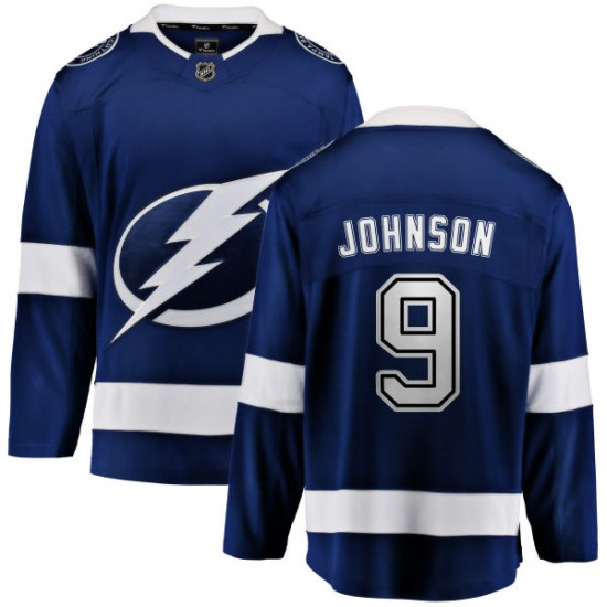 Tyler Johnson Tampa Bay Lightning Youth Breakaway Home Fanatics Branded Jersey - Blue