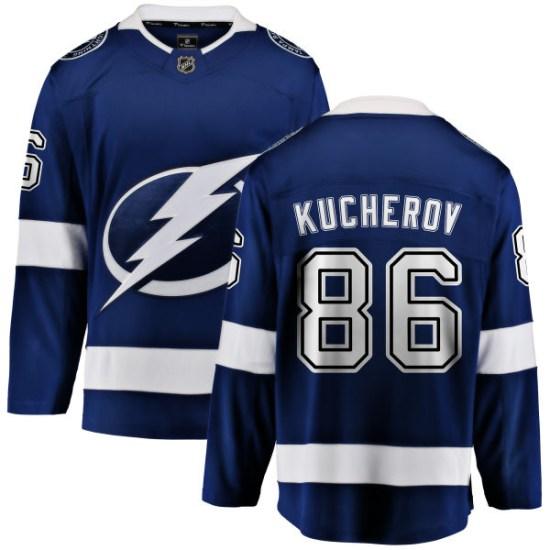 Nikita Kucherov Tampa Bay Lightning Youth Breakaway Home Fanatics Branded Jersey - Blue