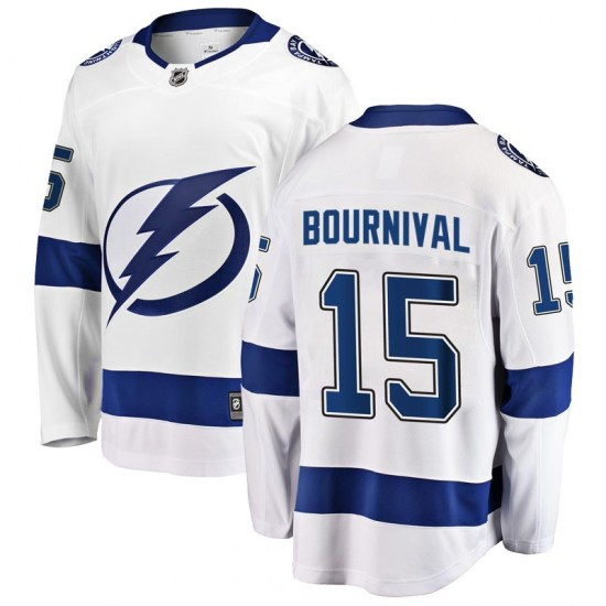Michael Bournival Tampa Bay Lightning Breakaway Away Fanatics Branded Jersey - White