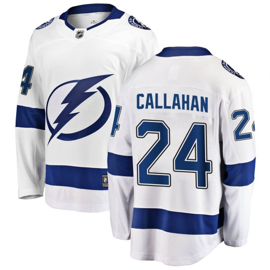 Ryan Callahan Tampa Bay Lightning Breakaway Away Fanatics Branded Jersey - White