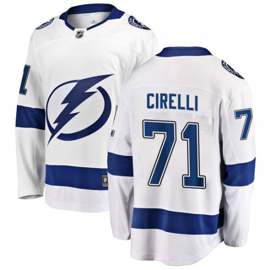 Anthony Cirelli Tampa Bay Lightning Breakaway Away Fanatics Branded Jersey - White