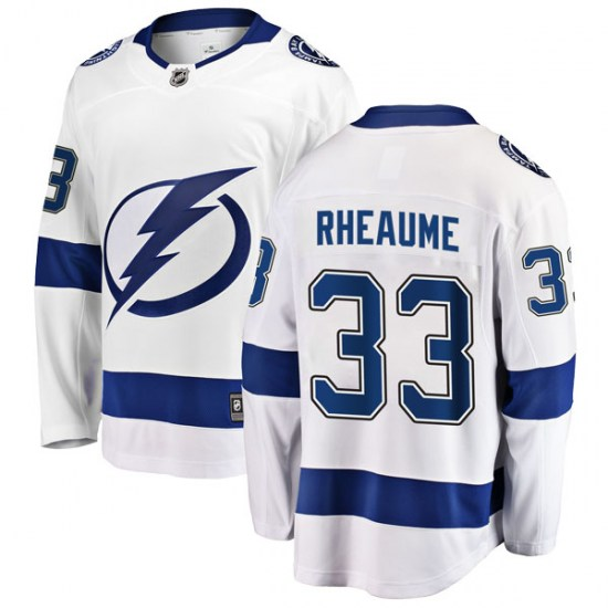 Manon Rheaume Tampa Bay Lightning Breakaway Away Fanatics Branded Jersey - White