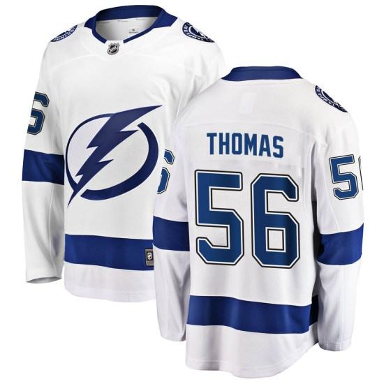 Ben Thomas Tampa Bay Lightning Breakaway Away Fanatics Branded Jersey - White