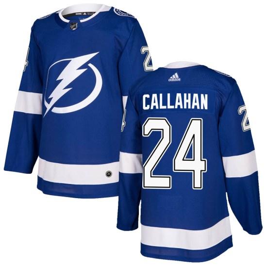 Ryan Callahan Tampa Bay Lightning Authentic Home Adidas Jersey - Blue