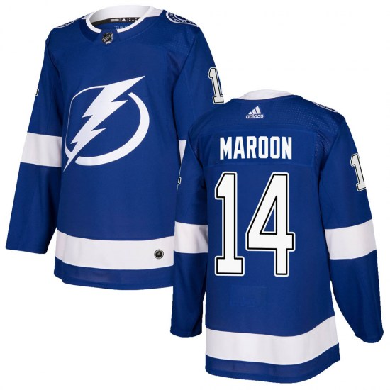 Patrick Maroon Tampa Bay Lightning Authentic Home Adidas Jersey - Blue