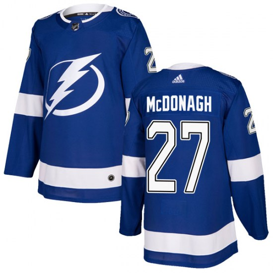 Ryan McDonagh Tampa Bay Lightning Authentic Home Adidas Jersey - Blue