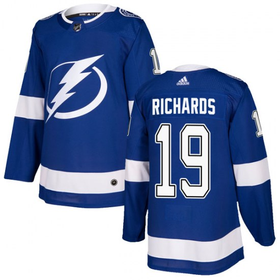 Brad Richards Tampa Bay Lightning Authentic Home Adidas Jersey - Blue