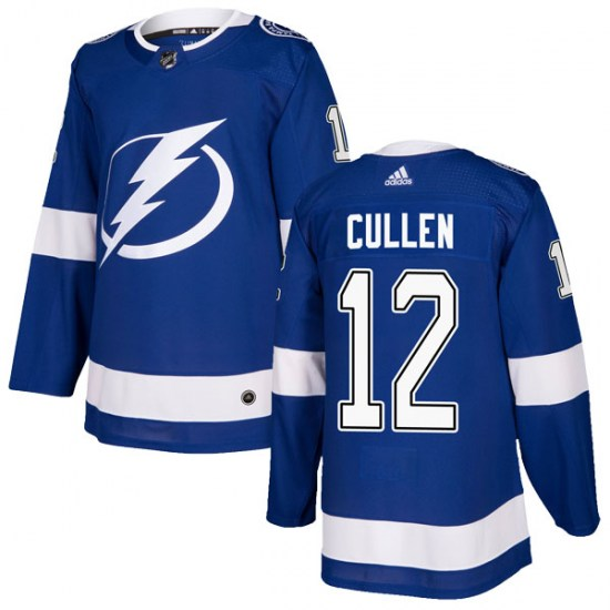 John Cullen Tampa Bay Lightning Youth Authentic Home Adidas Jersey - Blue
