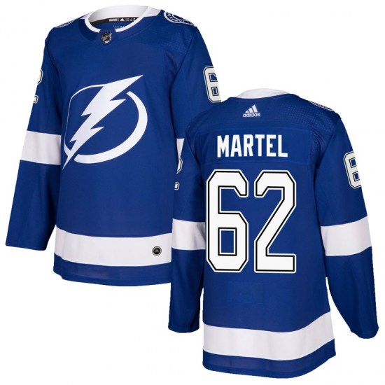 Danick Martel Tampa Bay Lightning Youth Authentic Home Adidas Jersey - Blue