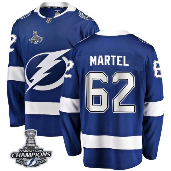 Danick Martel Tampa Bay Lightning Breakaway Home 2020 Stanley Cup Champions Fanatics Branded Jersey - Blue