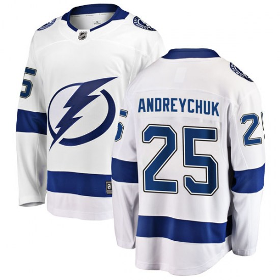 Dave Andreychuk Tampa Bay Lightning Youth Breakaway Away Fanatics Branded Jersey - White