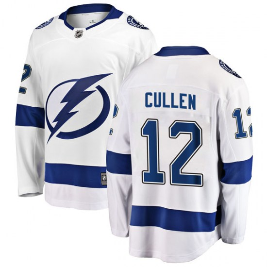 John Cullen Tampa Bay Lightning Youth Breakaway Away Fanatics Branded Jersey - White