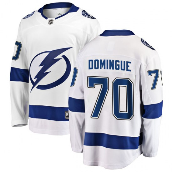 Louis Domingue Tampa Bay Lightning Youth Breakaway Away Fanatics Branded Jersey - White