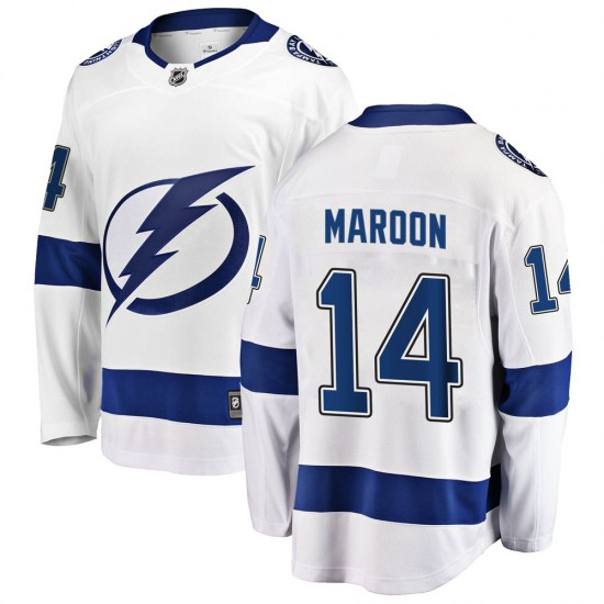 Patrick Maroon Tampa Bay Lightning Youth Breakaway Away Fanatics Branded Jersey - White
