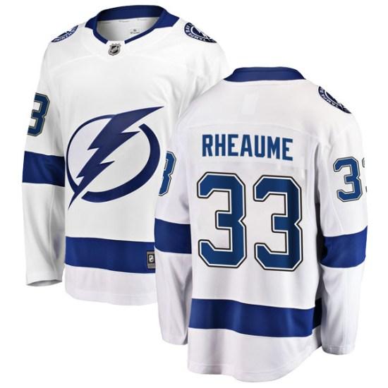 Manon Rheaume Tampa Bay Lightning Youth Breakaway Away Fanatics Branded Jersey - White