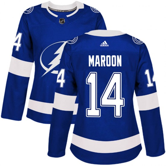 Patrick Maroon Tampa Bay Lightning Women's Authentic Home Adidas Jersey - Blue