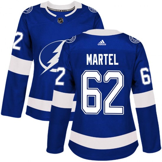 Danick Martel Tampa Bay Lightning Women's Authentic Home Adidas Jersey - Blue