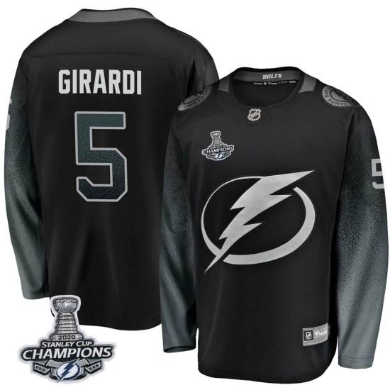 Dan Girardi Tampa Bay Lightning Breakaway Alternate 2020 Stanley Cup Champions Fanatics Branded Jersey - Black