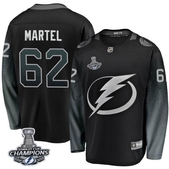 Danick Martel Tampa Bay Lightning Breakaway Alternate 2020 Stanley Cup Champions Fanatics Branded Jersey - Black