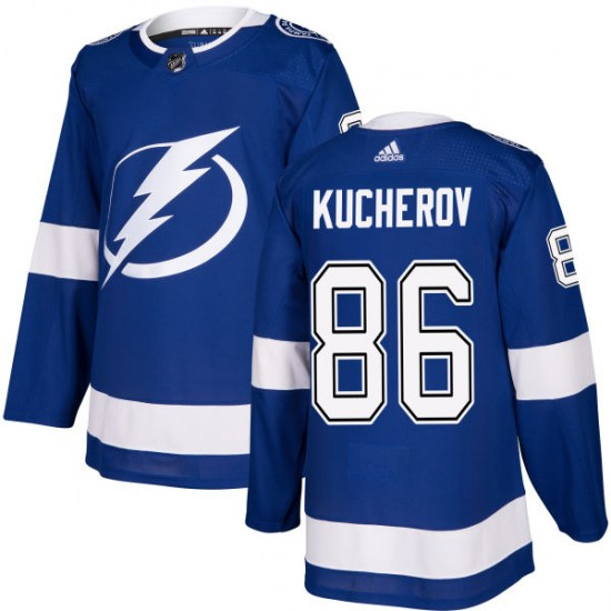 Nikita Kucherov Tampa Bay Lightning Authentic Adidas Jersey - Blue