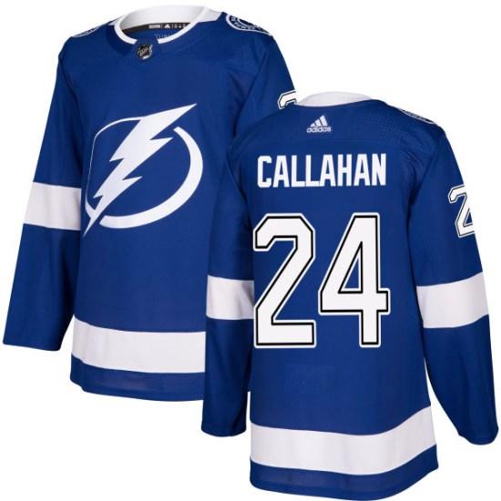 Ryan Callahan Tampa Bay Lightning Authentic Adidas Jersey - Blue