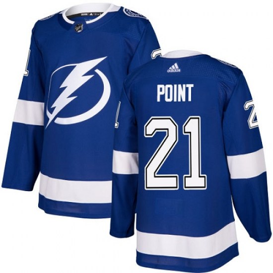 Brayden Point Tampa Bay Lightning Youth Authentic Home Adidas Jersey - Royal Blue