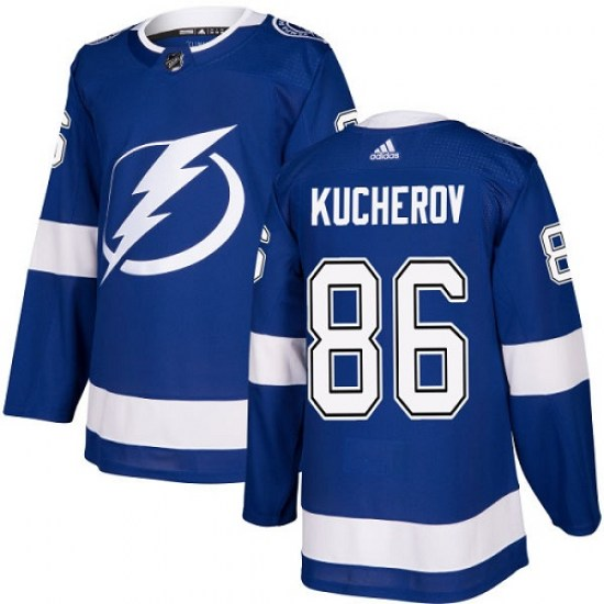 Nikita Kucherov Tampa Bay Lightning Youth Authentic Home Adidas Jersey - Royal Blue