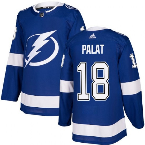 Ondrej Palat Tampa Bay Lightning Youth Authentic Home Adidas Jersey - Royal Blue