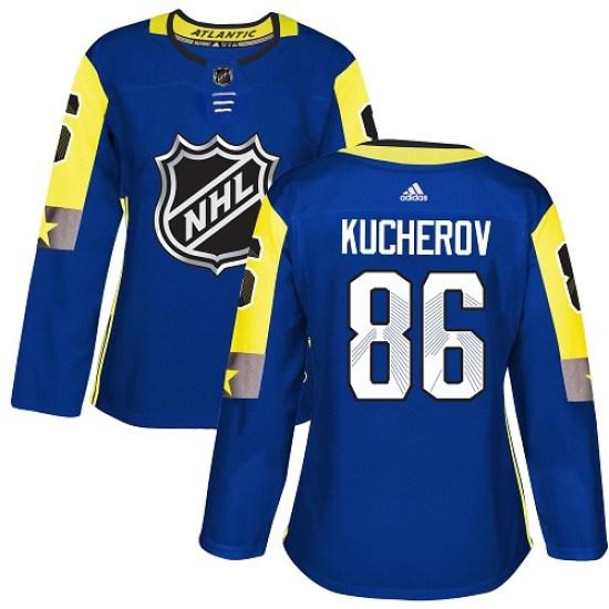 Nikita Kucherov Tampa Bay Lightning Women's Authentic 2018 All-Star Atlantic Division Adidas Jersey - Royal Blue