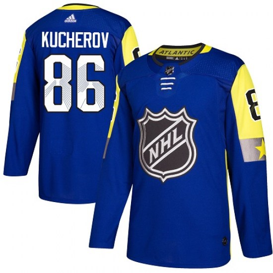 Nikita Kucherov Tampa Bay Lightning Youth Authentic 2018 All-Star Atlantic Division Adidas Jersey - Royal Blue