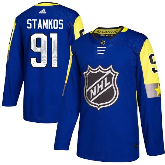 Steven Stamkos Tampa Bay Lightning Authentic 2018 All-Star Atlantic Division Adidas Jersey - Royal Blue