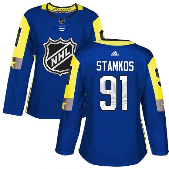 Steven Stamkos Tampa Bay Lightning Women's Authentic 2018 All-Star Atlantic Division Adidas Jersey - Royal Blue