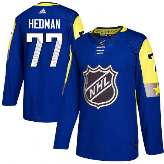 Victor Hedman Tampa Bay Lightning Youth Authentic 2018 All-Star Atlantic Division Adidas Jersey - Royal Blue